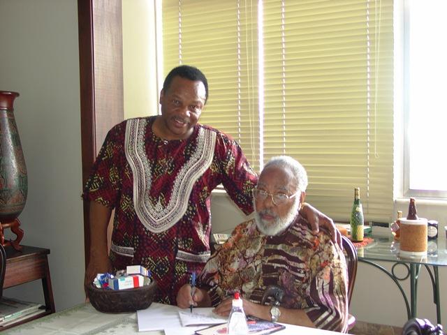 Molefi Kete Asante et Abdias Do Nascimento