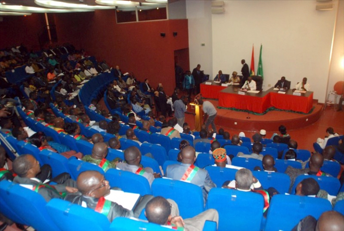 Le Conseil National de la Transition au Burkina Faso (2015)
